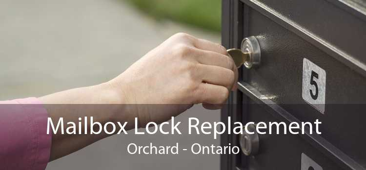 Mailbox Lock Replacement Orchard - Ontario